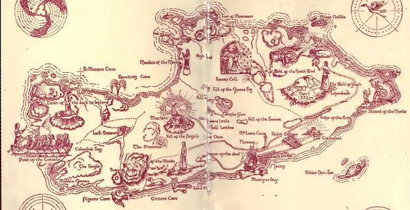 Iona map