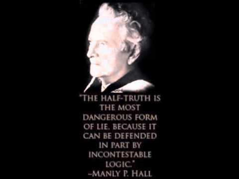 quote manly hall half truth