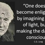 One does not become enlightened by imagining figures of light