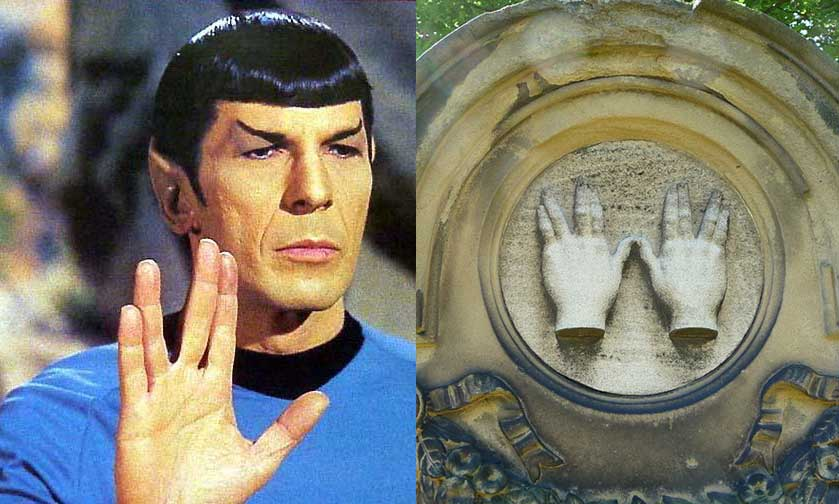 The Hebrew Origins Of The Vulcan Hand Sign Of Spock Gnostic