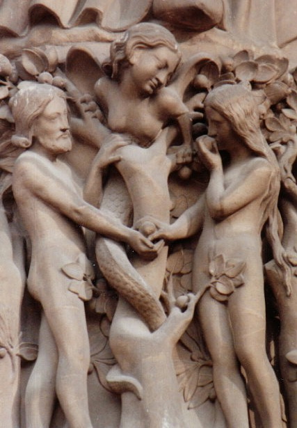 France_Paris_Notre-Dame-Adam_and_Eve