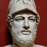 The Big Greek Elongated Head of Pericles