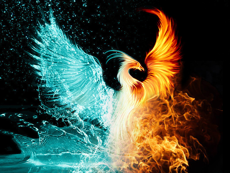 Egyptian Spell for Being Transformed Into a Phoenix