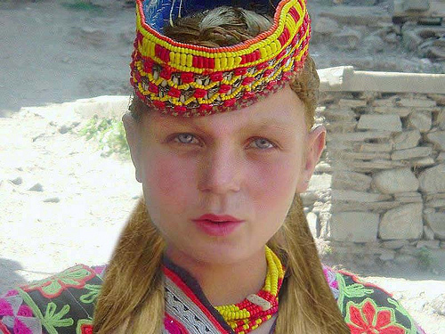 Kalash tribe girl