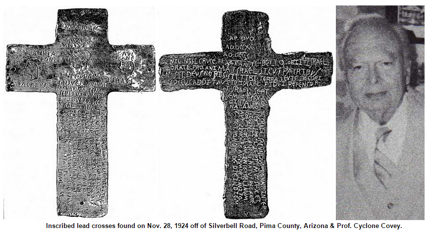 Phoenician Indians - Arizona relics cross 1