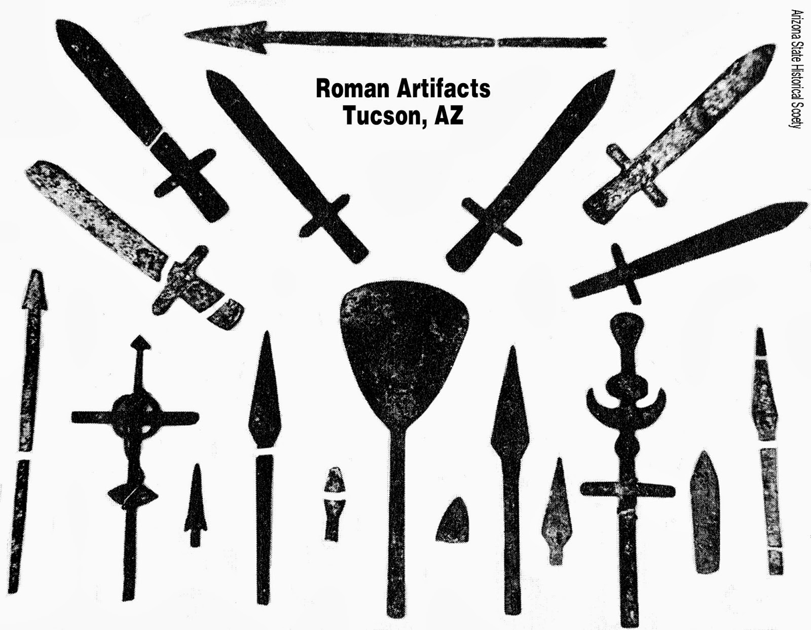 Phoenician Indians - Artifacts tucson