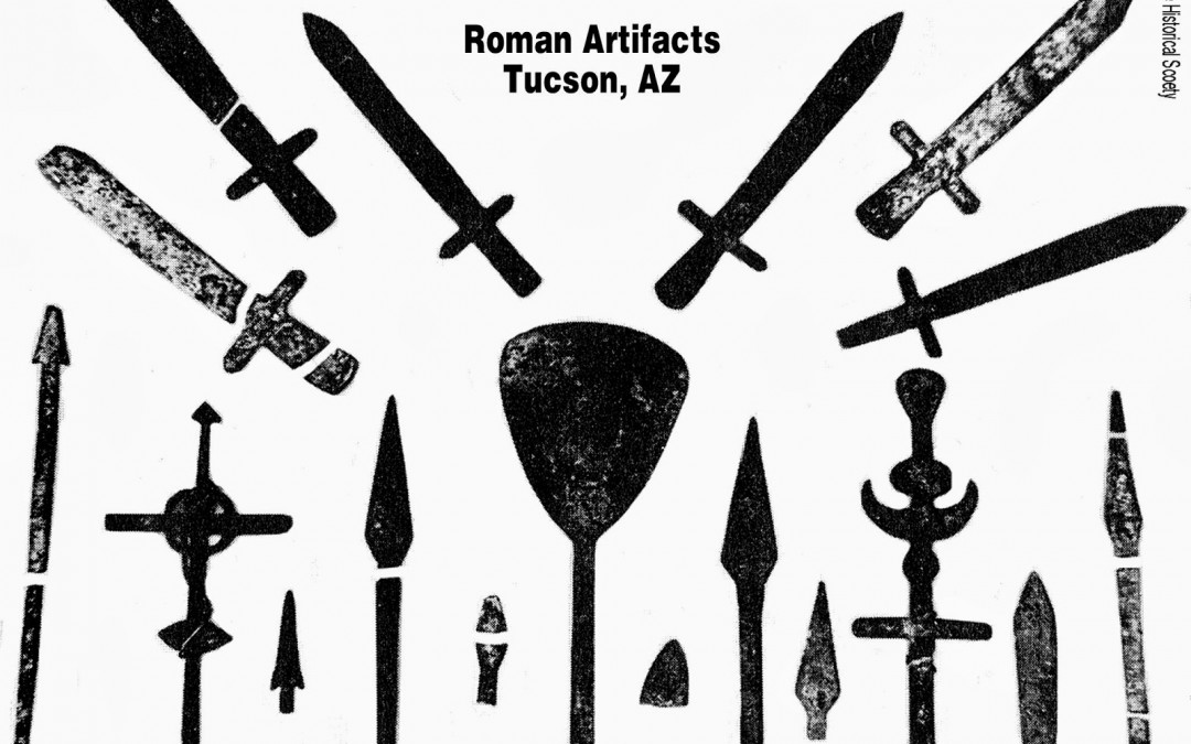Roman and Jewish Masonic Artifacts Dated to Around 800 A.D. Found in Tuscon, Arizona
