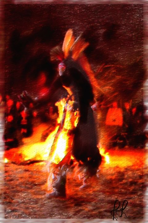 Phoenician Indians - Fire dance