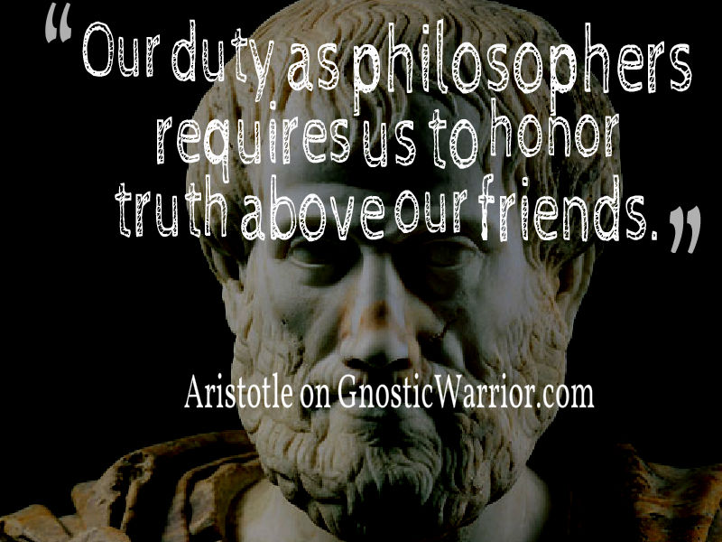 the truth seeker aristotle Seekers of truth 94 likes truth is correspondence between idea (mind) expressed by spoken or written words or action, and what the idea represents.