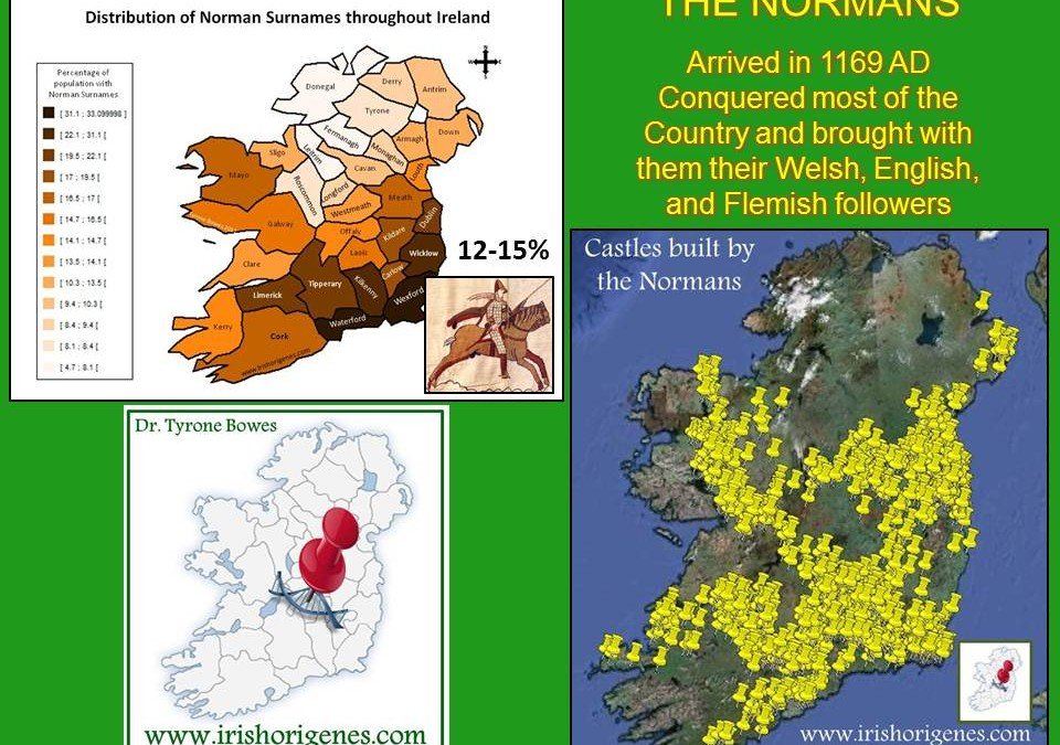 Irish DNA has Middle Eastern and Russian roots, gene study shows