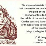Carl Jung on Being Darkly Aware of Alchemy