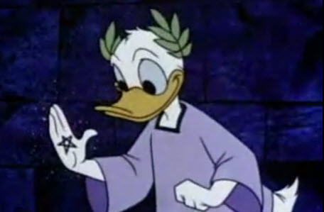 Donald Duck Teaches the Golden Mean