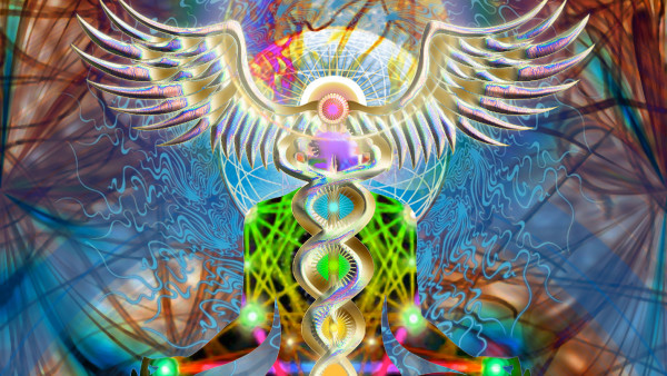 The Ever Burning Lamp of Spiritual Fire Within the Spinal Column