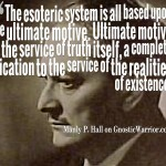 Ultimate motive is the service of truth itself