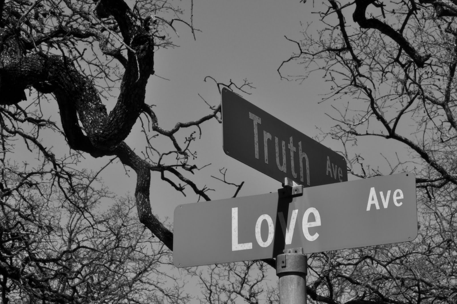 And that the attainment of truth and love