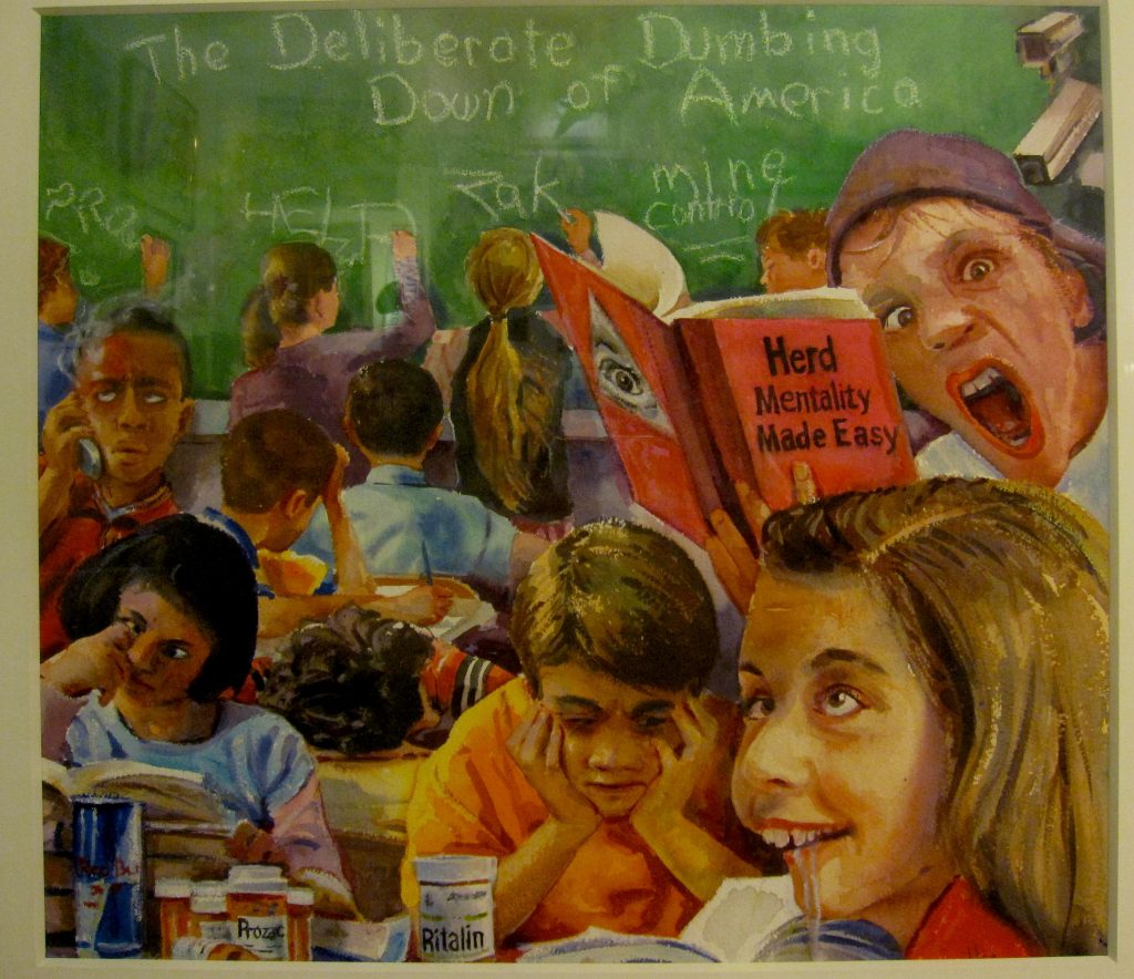 the-deliberate-dumbing-down-of-america