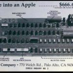 The Apple 1 was released for sale on 4/11, 1976 – Price: $666.66