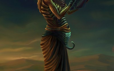 Thoth, as the inspirer of all sacred writings and the president of all priestly discipline
