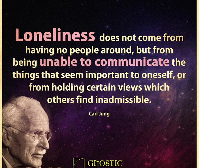 Carl Jung on Loneliness
