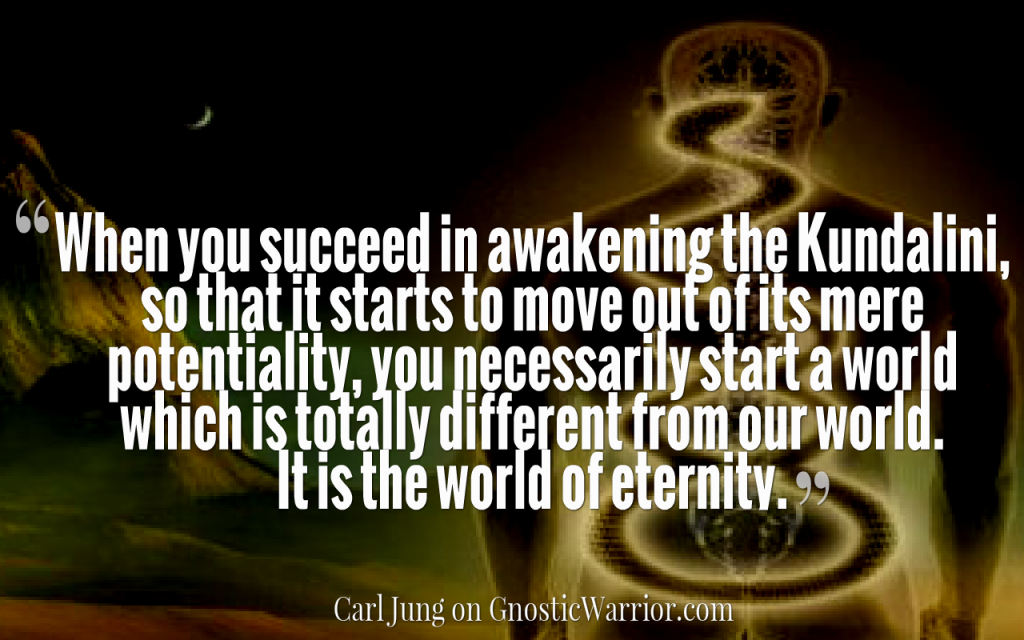 Quote by carl jung on kundalini