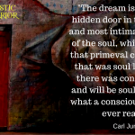 The dream is the small hidden door in the deepest and most intimate sanctum of the soul
