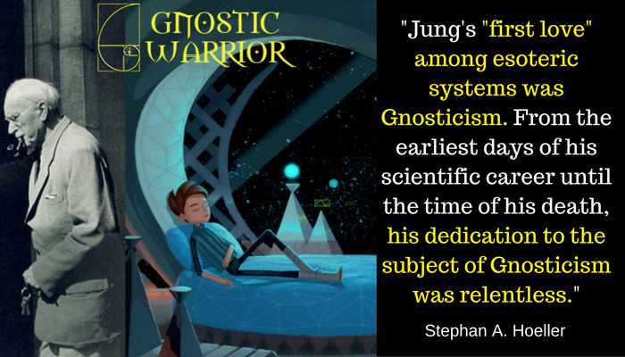 """Jung's """"first love"""" among esoteric systems was Gnosticism"""