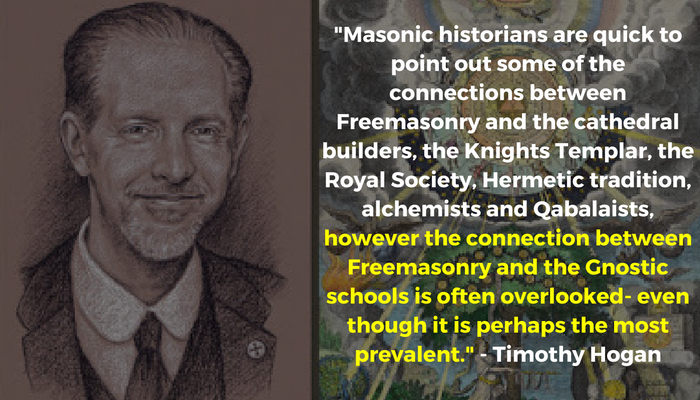 The connection between Freemasonry and the Gnostic schools is often overlooked