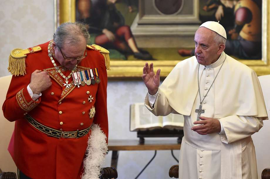 Pope Francis Goes After Freemasons and Seizes Power of the Knights of Malta
