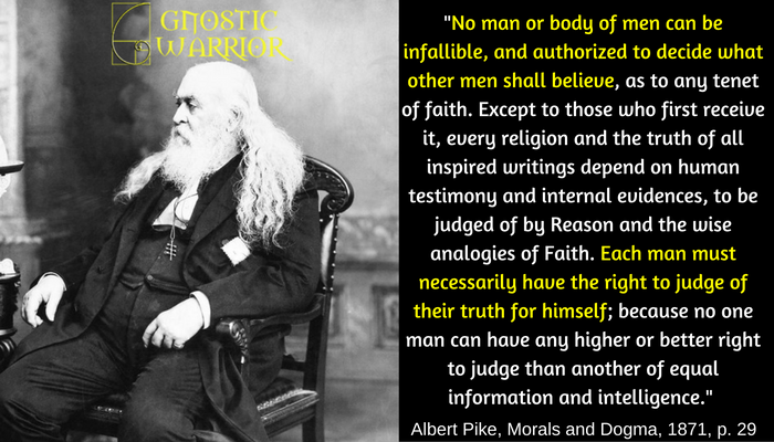 Each man must necessarily have the right to judge of their truth for himself