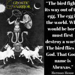 That God's name is Abraxas