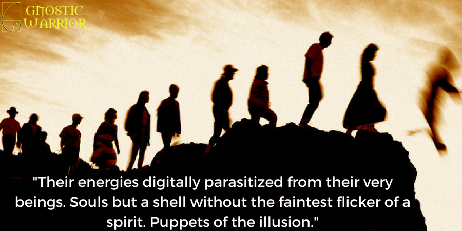Digitally Parasitized Puppets of the Illusion