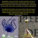 Catholic priests use the Aspergillum (from Aspergillus) to sprinkle holy water (antifungal) on the faithful
