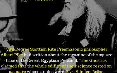 Albert Pike Explains the Square of the Freemasonic Gnostics