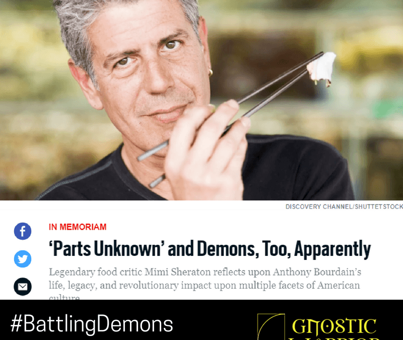 Anthony Bourdain: 'Parts Unknown' and Demons, Too, Apparently