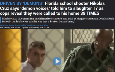 Florida school shooter says 'Demon Voices' ordered him to kill