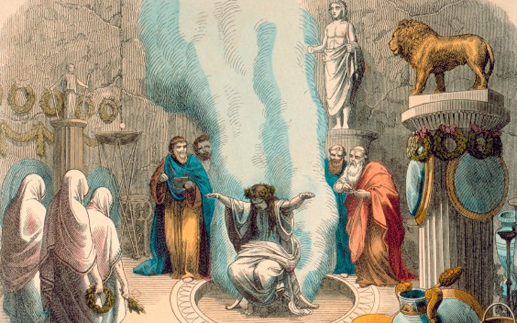 The Pythia Priesthood of the Delphic Oracles