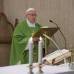 Pope Francis says the Great Accuser has been unchained and is attacking bishops