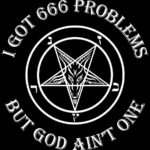 The false light or lower mind is the emblem of the beast and the number 666