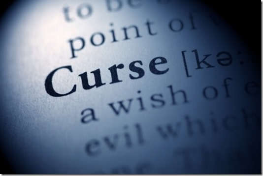 What is the meaning of a curse?