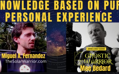 Knowledge Based On Pure Personal Experience w/ Miguel A. Fernandez